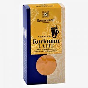 Kurkuma Latte Vanilka BIO 60g Sonnentor krabička