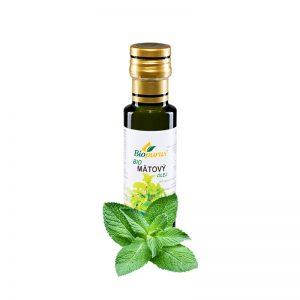 Olej Mätový BIO macerát 100 ml Biopurus