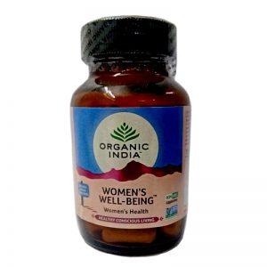 ZDRAVIE pre ŽENU – hormonálna rovnováha BIO 60 kapsúl Organic India sklenená dóza