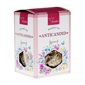 Anticandid - bylinný čaj sypaný 50 g Serafin