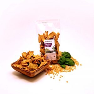 Chipsy Bazalkové 150 g Damodara