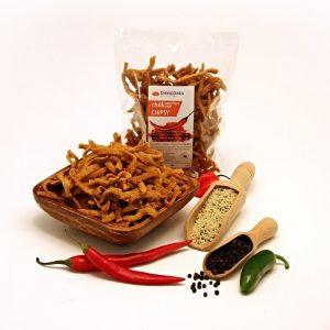 Chipsy Chili a konopné semienko 100 g Damodara