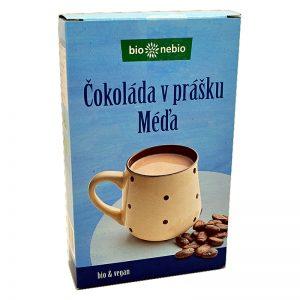 Čokoláda v prášku Kakaový nápoj s trstinovým cukrom Méďa 150g Bionebio papierová krabička