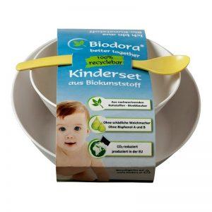 Detský set, 3-dielny základný riad Biodora