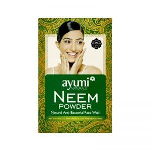 Kúra na vlasy Neem Powder - prírodné antibakteriálne tonikum 100 g Ayumi Naturals