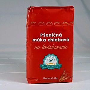 Múka pšeničná chlebová na kváskovanie 1000g Mlyn Trenčan papierové vrecko