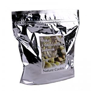 Múka z tekvicových jadier 500 g Nature Cookta