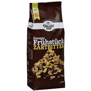 Musli chrumkavé raňajky čokoládové BIO 325g bauckhof