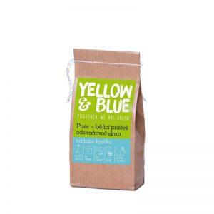 PUER – bieliaci prášok a odstraňovač škvŕn na báze kyslíka 250 g Yellow & Blue - Tierra Verde