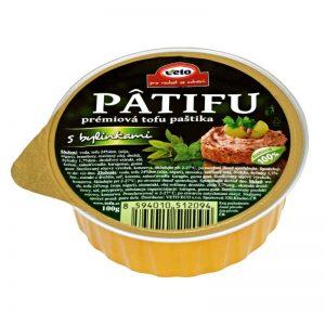 Paštéta PATIFU s bylinkami 100 g VETO ECO