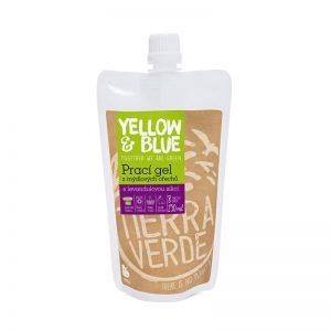 Prací gél z mydlových orechov Levanduľa 250 ml Yellow & Blue - Tierra Verde