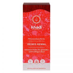 Rastlinná farba na vlasy Čistá Henna 100 g Khadi
