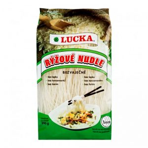 Rezance ryžové 1 mm 240 g Lucka