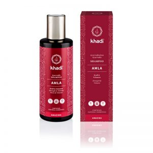 Šampón na vlasy Amla pre objem a lesk 210 ml Khadi