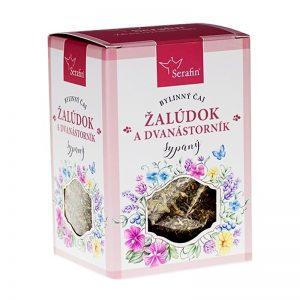 Žalúdok a dvanástorník - bylinný čaj sypaný 50 g Serafin