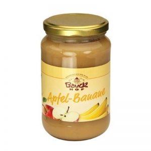 ovocné pyré jablko banán BIO 300g bauckhof