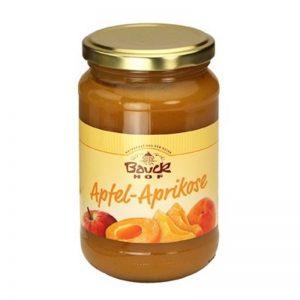 ovocné pyré jablko marhuľa BIO 300g bauckhof