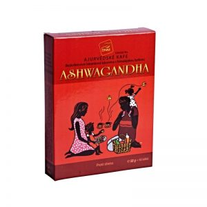 Bezkofeinová čakanková ajurvédska kávovina ashwagandha 50g DNM krabička