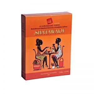 Bezkofeinová čakanková ajurvédska kávovina shatawari 50g DNM krabička