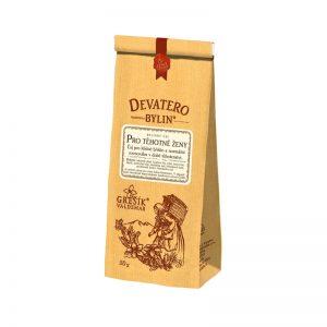 Čaj sypaný Devatero bylin - Pre tehotné 50 g Grešík