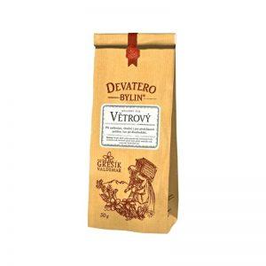 Čaj sypaný Devatero bylin - Vetrový 50 g Grešík