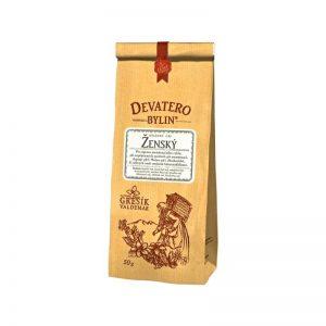 Čaj sypaný Devatero bylin - Ženský 50 g Grešík