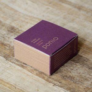 Masážna kocka Dvojitá levanduľa 100 g Ponio