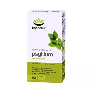 Indický skorocel vláknina psyllium 100g topnatur krabička
