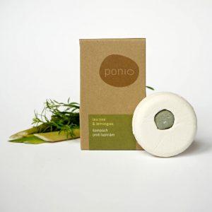 Šampúch Tea tree a Lemongras proti lupinám 60 g Ponio