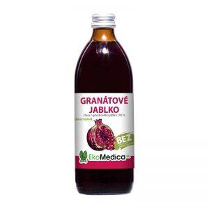 Šťava Granátové jablko 500 ml EkoMedica