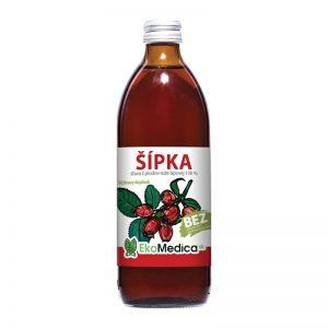 Šťava Šípka 500 ml EkoMedica