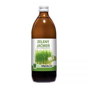 Šťava Zelený jačmeň 500 ml EkoMedica