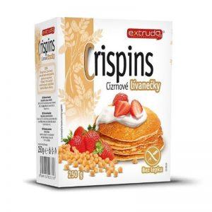 Zmes Crispins Cícerové lievance bezlepkové 250g Extrudo