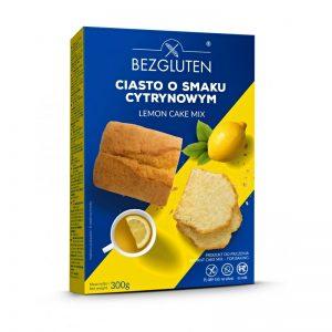 Zmes na citrónovú tortu Lemon cake 300g Bezgluten