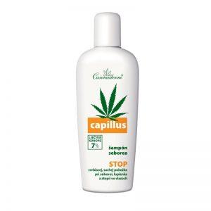 Capillus šampón na seboreu 150ml Cannaderm