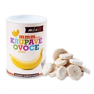 Chrumkavé ovocie Banán 130g Mixit