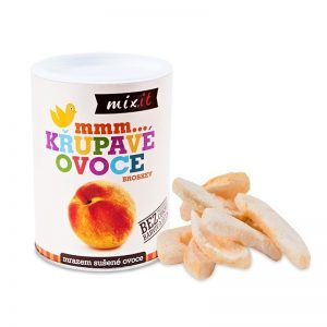 Chrumkavé ovocie Broskyňa 50g Mixit
