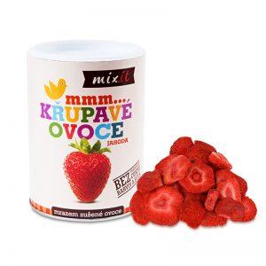 Chrumkavé ovocie Jahoda 50g Mixit