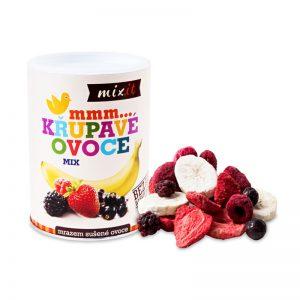 Chrumkavé ovocie Malé mix 70g Mixit