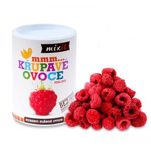 Chrumkavé ovocie Malina 70g Mixit