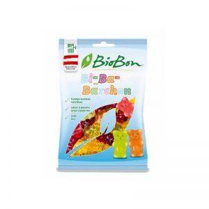 Cukríky Gumené medvedíky BIO 100g BioBon bezlepkové