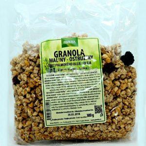 granola malina ostružina 300g provita