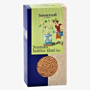 Horčičné semienka žlté BIO 120g Sonnentor krabička