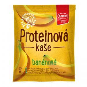 Kaša proteínová banánová 65g semix