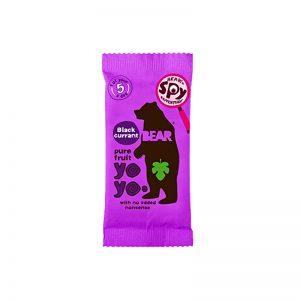Yoyo želé Čierne ríbezle 20g Bear bezlepkové vegán