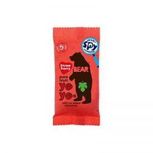 Yoyo želé Jahoda 20g Bear bezlepkové vegan
