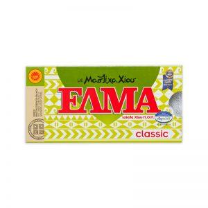 Žuvačky s mastichou Klasik s cukrom 10ks Elma blister dražé
