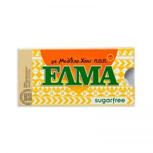 Žuvačky s mastichou tradičné bez cukru 10ks Elma blister dražé
