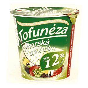 Tofunéza, bezvaječná Tatárska omáčka 150g Sunfood plastový téglik