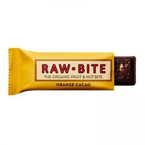 RAW-BITE energy tyčinka Pomaranč, kakao BIO 50 g Rawbite
